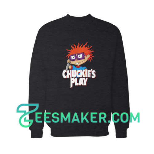Rugrats Chuckie Play Sweatshirt